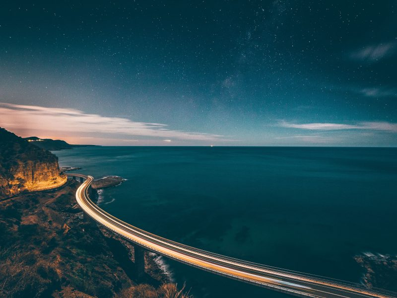 Sea Cliff Bridge, Clifton NSW. Photo: Alex Pidgeon
