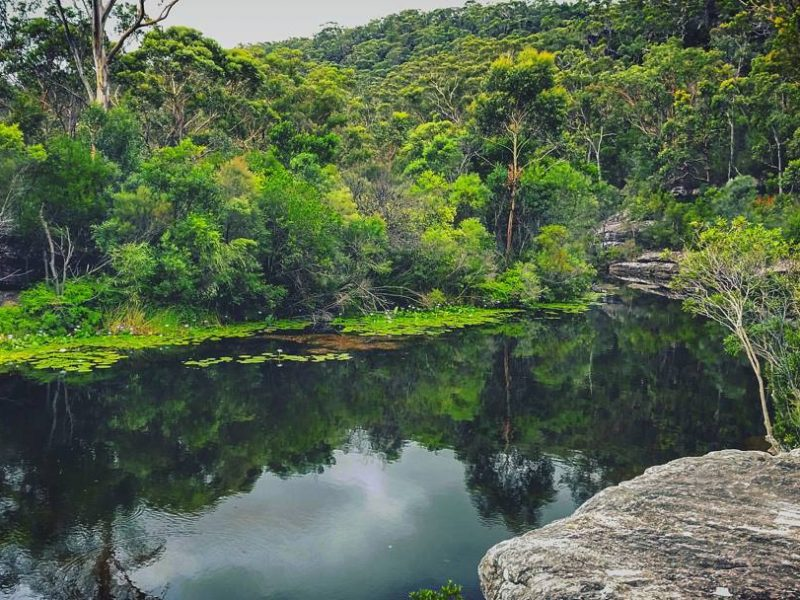 Water views of Heathcote National Park. Photo: Alan Podmore