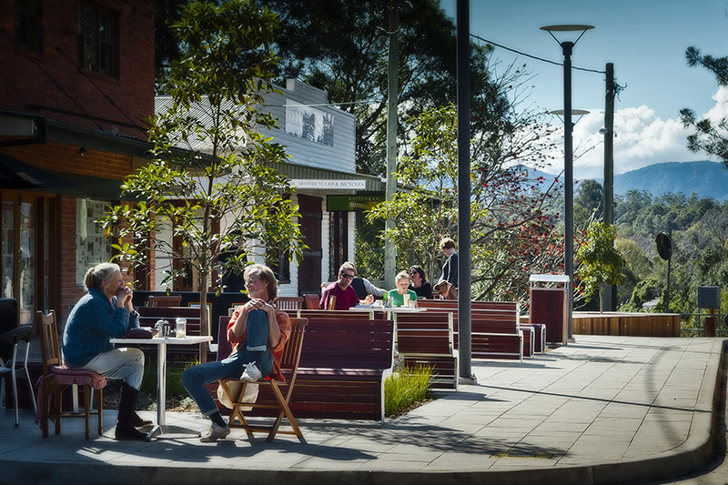 Street view of Bellingen, NSW. Photo: Gethin Coles Photography