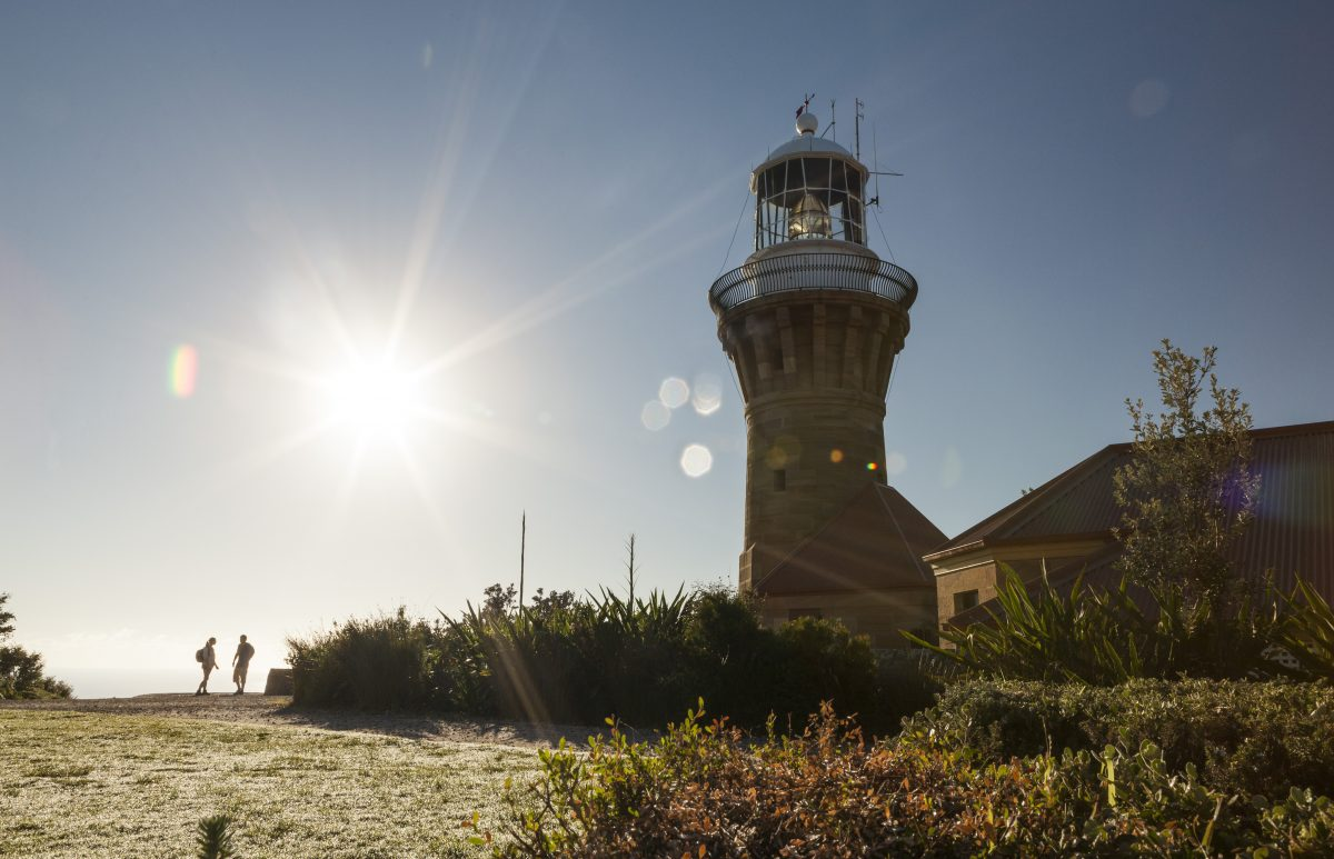 Barrenjoey Lighthouse in Ku-ring-gai Chase National Park. Photo: David Finnegan/OEH