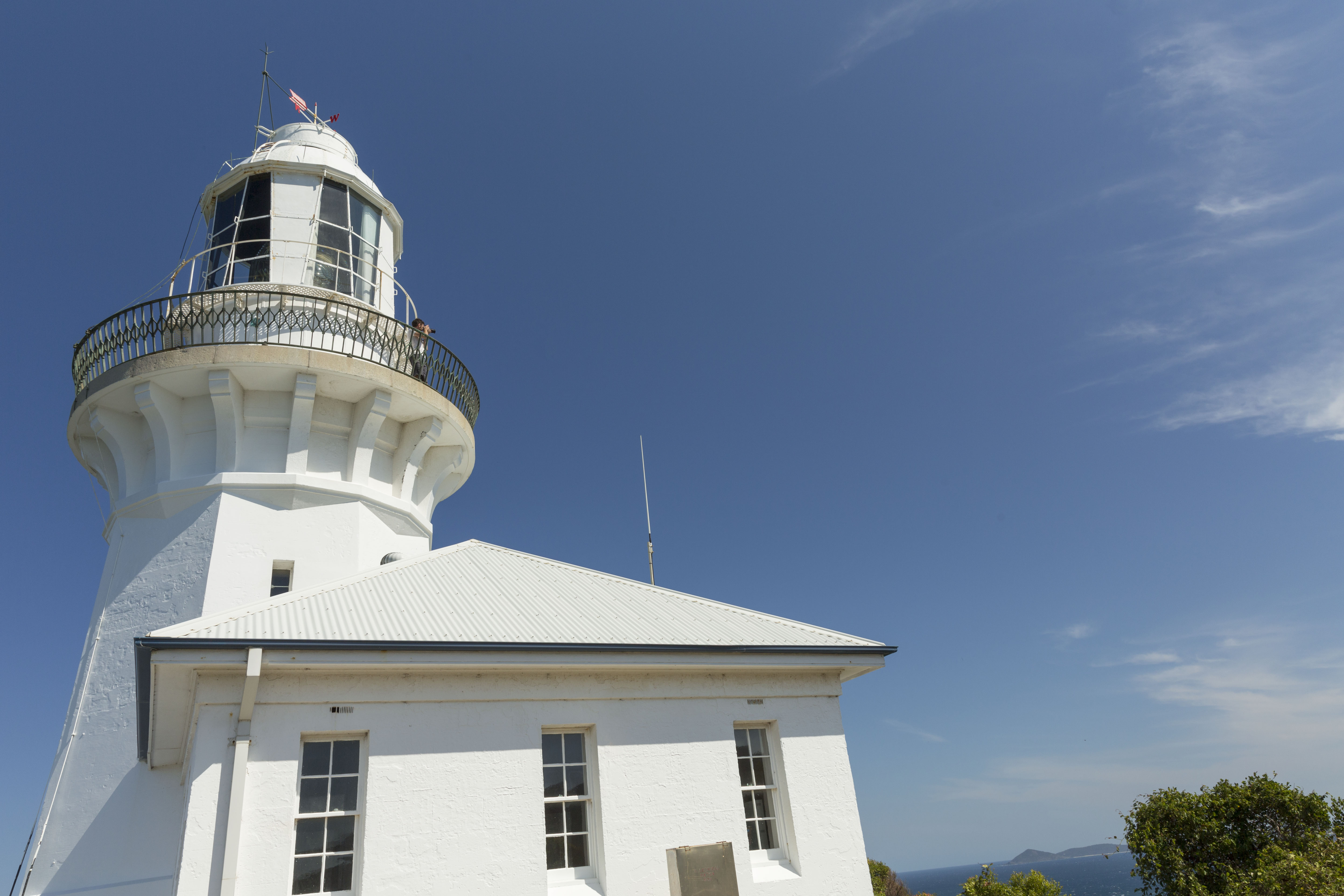 Smoky Cape Lighthouse in Hat Head National Park. Photo: David Finnegan/OEH