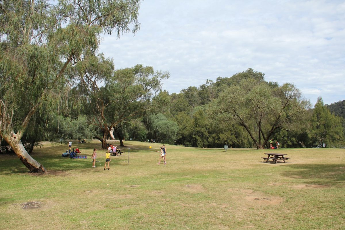 Bents Basin State Conservation Area, picnic area on Bents Basin Road