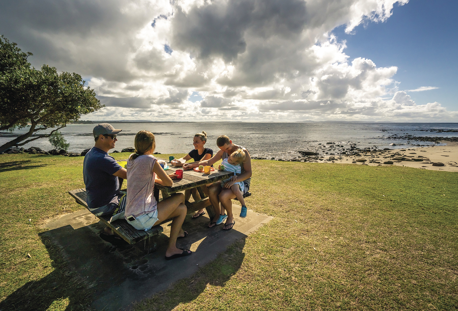 Picnicking, Woody Head, Bundjalung National Park