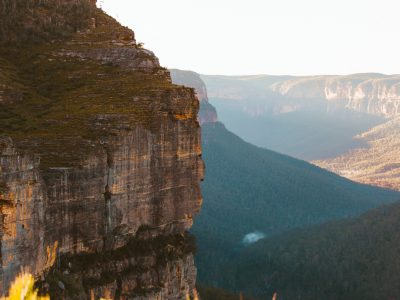 View of the Blue Mountains National Park. Photo: Tim Clark/DPIE
